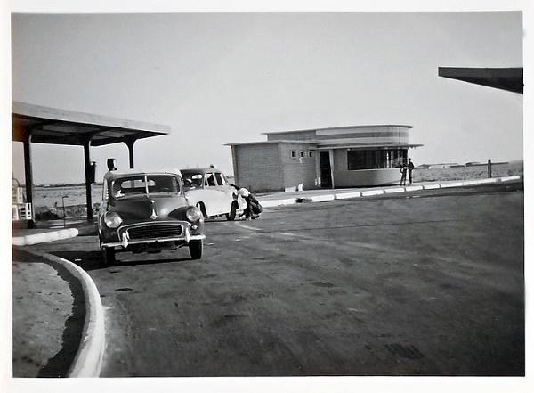 محطة وقود في الأحمدي