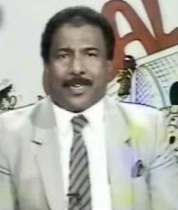 خالد الحربان في أحد برامجه التلفزيونية
